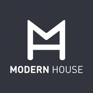 Gå til Modern House. Logo.