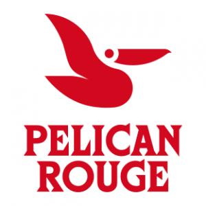 Gå til Pelican Rouge. Logo.
